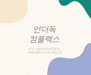 [언더독 컴플렉스] #10. 사당역과 동부이촌동 사이의 페이크 지식노동자 (1)